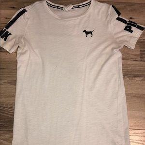 VS Pink White T-shirt